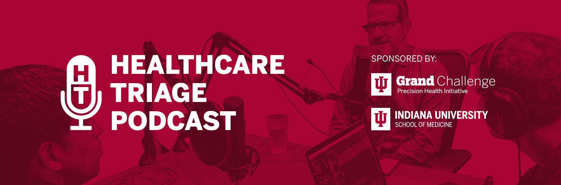 Healthcare Triage podcast web hero
