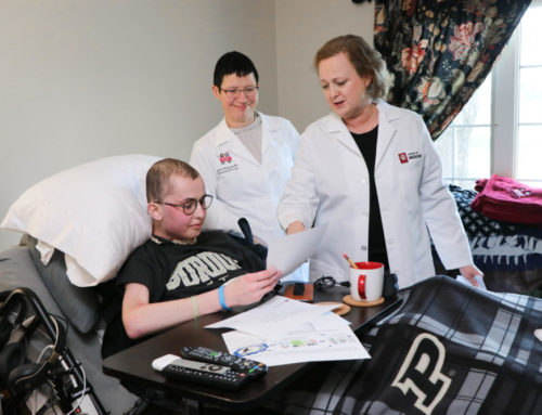 IU School of Medicine researchers discover new treatment with help from Tyler Trent's cell lines