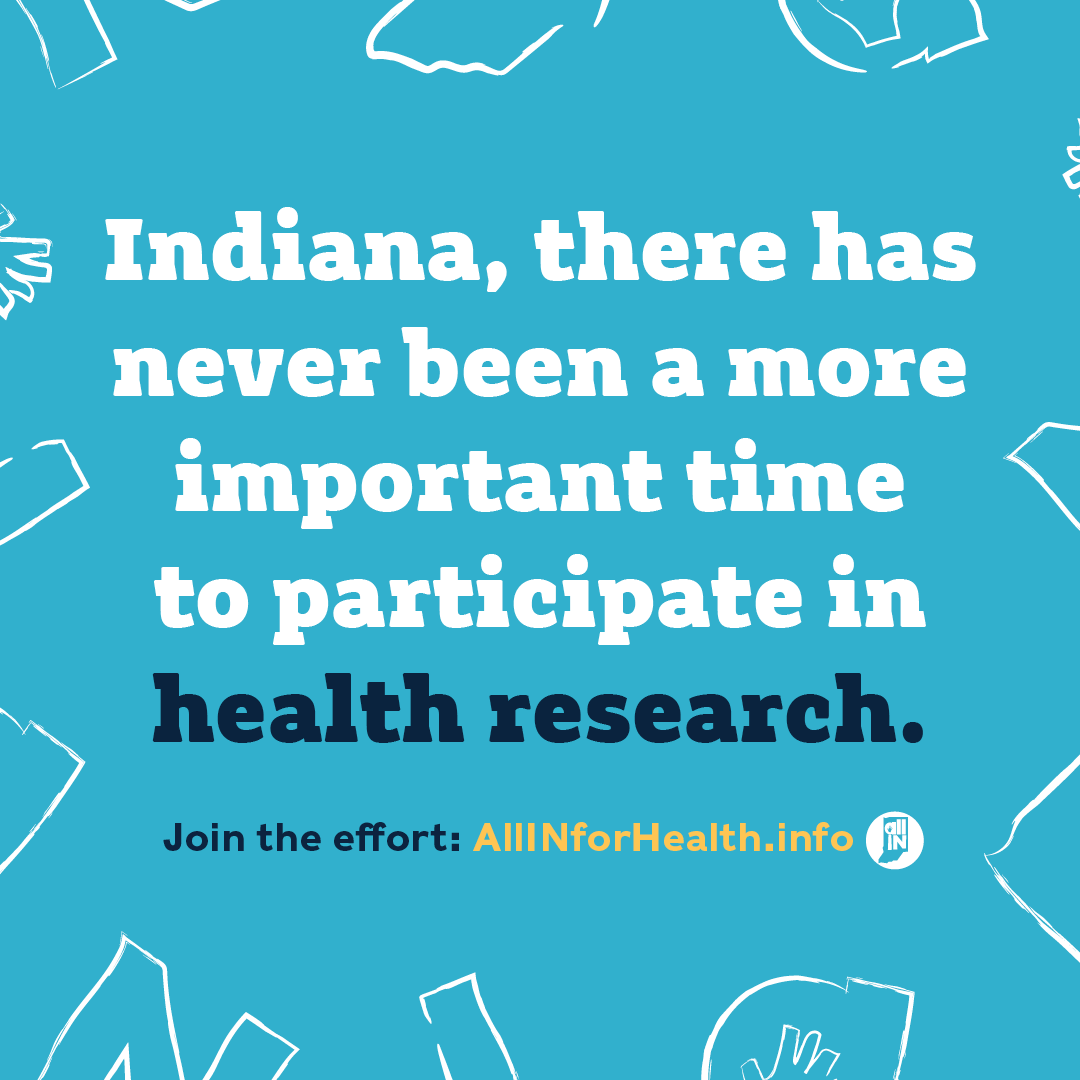 All IN for Health ad with WFYI