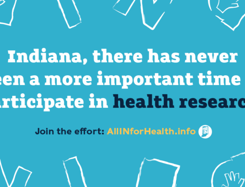 We've partnered with WFYI to share the importance of health research!