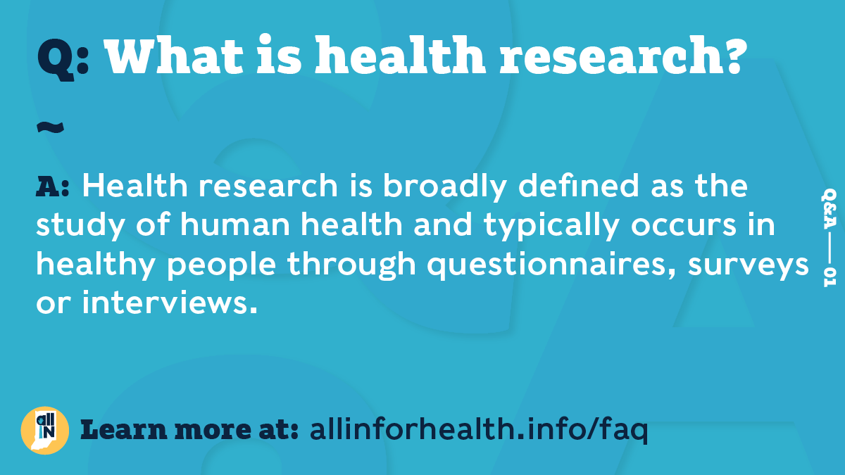 what is health research