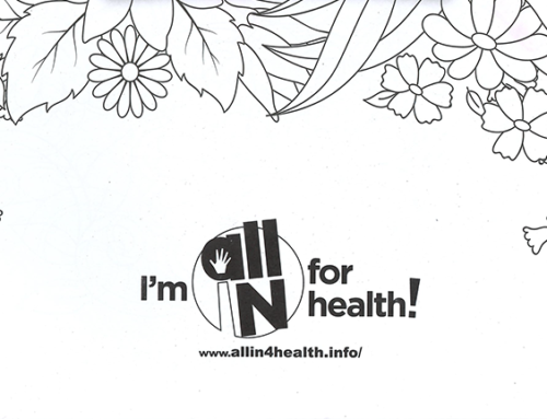 All IN for Health Coloring Book – For Adults