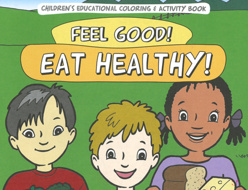 All IN for Health Coloring Book – For Kids