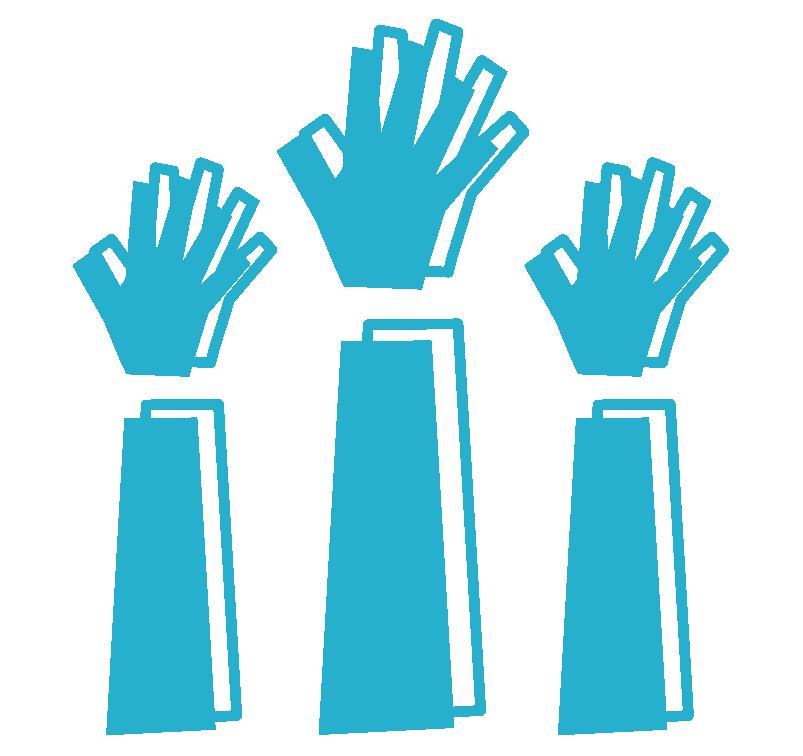 All in Hands Logo