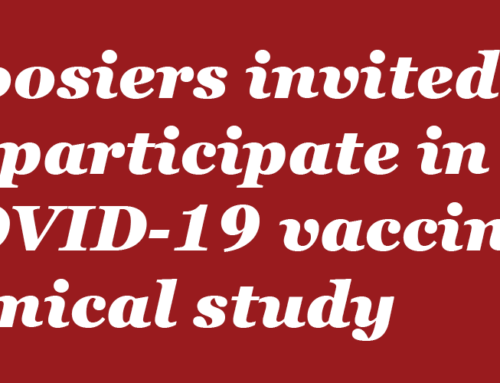 Hoosiers invited to participate in COVID-19 vaccine clinical study